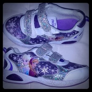 Frozen Girls shoes sz 11